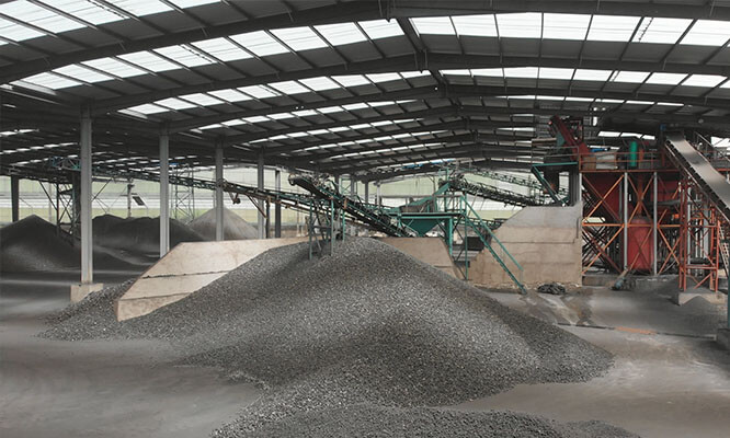 Raw material plant 1 1 1